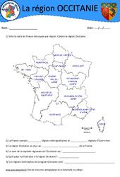 Occitanie - Je découvre ma région : 4eme, 5eme Primaire