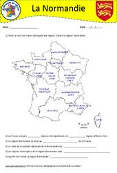 Normandie - Je découvre ma région : 4eme, 5eme Primaire