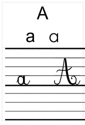 Alphabet - Affichages - Outils pour la classe : 1ere Primaire