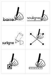 Affiches de consignes - Affichages - Outils pour la classe : 1ere Primaire