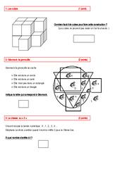 Défis mathématiques - Exercices : 1ere, 2eme Primaire