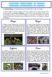Pâques - Texte documentaire - Lecture compréhension : Primaire - Cycle Fondamental