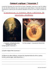 Ascension - Lecture d'une oeuvre artistique - Histoire de l'art : Primaire - Cycle Fondamental