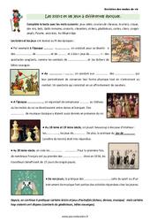 Loisirs et jeux à différentes époques - Cours, Leçon : 3eme Primaire