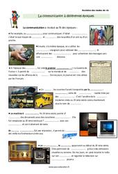 Communication à différentes époques - Cours, Leçon : 3eme Primaire