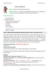 Frise chronologique - Fiche de préparation : 1ere Primaire