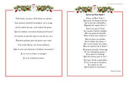 Poèmes de Noël - Vie de la classe : Primaire - Cycle Fondamental