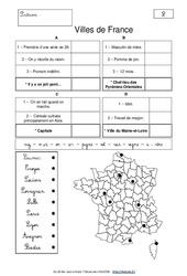Géocharades - Géographie ludique : 4eme, 5eme Primaire