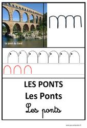 Ponts - Graphisme - Affichages pour la classe : 1ere, 2eme, 3eme Maternelle - Cycle Fondamental