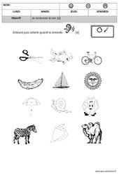 Son o - Phonologie : 2eme, 3eme Maternelle - Cycle Fondamental