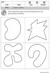 Intérieur - Extérieur - Espace : 1ere, 2eme Maternelle - Cycle Fondamental