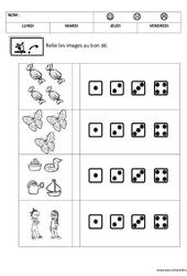 Correspondance - Quantité - Quantités et nombres : 2eme, 3eme Maternelle - Cycle Fondamental