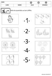Dénombrer - Quantités et nombres : 2eme, 3eme Maternelle - Cycle Fondamental