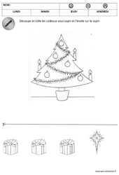 Sur et sous le sapin - Espace - Noël : 1ere, 2eme Maternelle - Cycle Fondamental