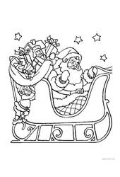 Coloriages - Noël : 3eme Maternelle - Cycle Fondamental