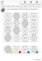 Discrimination visuelle - Galettes - Lecture - Fête des rois : 3eme Maternelle - Cycle Fondamental