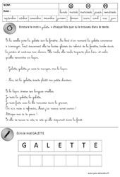 Lecture - Galette - Fête des rois : 3eme Maternelle - Cycle Fondamental