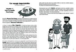 Un voyage imprévisible - Lecture 1 - Paléolithique - Famille Pass'Temps : 3eme, 4eme, 5eme Primaire