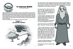 Le nouveau druide - Lecture 3 - Antiquité - Famille Pass'Temps : 3eme, 4eme, 5eme Primaire