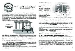 Tout sauf Rome Antique! Lecture 4 - Gaule Romaine - Famille Pass'Temps : 3eme, 4eme, 5eme Primaire