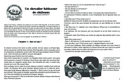 Un chevalier bâtisseur de châteaux - Lecture 6 - Moyen Age - Chevaliers et seigneurs - Famille Pass'Temps : 4eme, 5eme Primaire