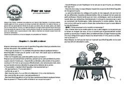 Pour un vase - Lecture 7 - Clovis - Famille Pass'Temps : 4eme, 5eme Primaire