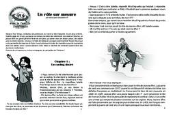 Un rôle sur mesure - Lecture 8 - Jeanne d'Arc - Famille Pass'Temps : 4eme, 5eme Primaire