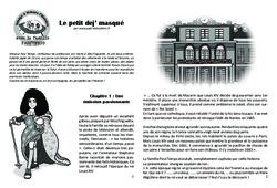Le petit dej' masqué - Lecture 10 - Louis XIV - Famille Pass'Temps : 4eme Primaire
