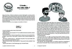 L'école... une idée folle? Lecture 14 - Jules Ferry - Famille Pass'Temps : 4eme, 5eme Primaire