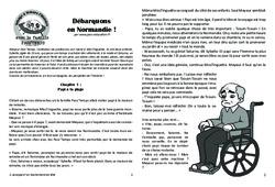 Débarquons en Normandie! - Lecture 16 - 2ème Guerre mondiale - Famille Pass'Temps : 4eme, 5eme Primaire