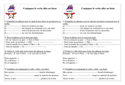 Verbe aller au futur - Exercices - Conjugaison - Français : 2eme Primaire