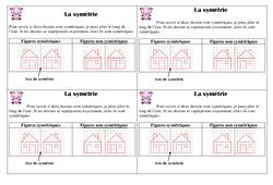 Symétrie - Cours, Leçon : 2eme Primaire