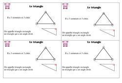 Triangle - Cours, Leçon : 2eme Primaire