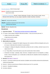 Anglais - Tout le programme période 3 - Famille Vadrouille : 3eme Primaire