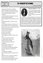 Le renard et le bouc - Jean de La Fontaine - Arts du langage - Histoire des arts : 4eme, 5eme Primaire