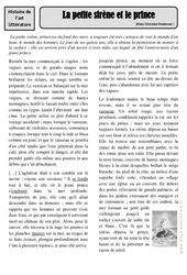 La petite sirène et le prince - Hans Christian Andersen - Arts du langage - XIXe siècle - Histoire des arts : 4eme, 5eme Primaire