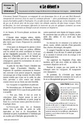 Cinq semaines en ballon - Jules Verne - Arts du langage - XIXe siècle - Histoire des arts : 4eme, 5eme Primaire