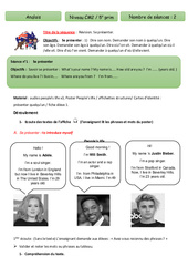 Anglais - Tout le programme période 4 - Famille Vadrouille : 5eme Primaire