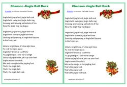 Jingle bells rock - Chanson de Noël : Primaire - Cycle Fondamental