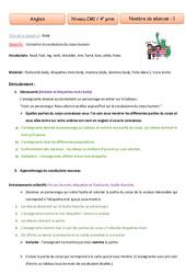 Body - Anglais - Famille Vadrouille : 4eme Primaire