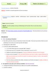 Animaux en Australie - Anglais - Famille Vadrouille : 5eme Primaire