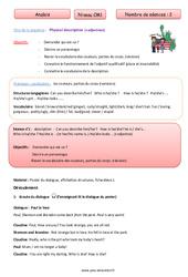 Physical description - Anglais - Famille Vadrouille : 4eme Primaire