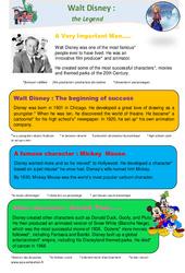 Walt Disney - Anglais - Famille Vadrouille : 4eme Primaire