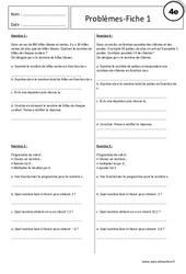 Equations - Inéquations - Problèmes - Exercices corrigés : 2eme Secondaire