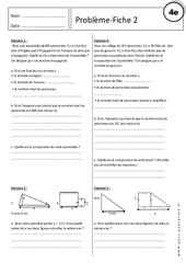 Equation - Inéquation - Problèmes - Exercices corrigés : 2eme Secondaire