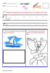 Fichier graphisme : 1ere, 2eme, 3eme Maternelle - Cycle Fondamental