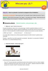 Who are you (2) - Anglais : 2eme Primaire