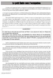 Le petit Émile sous l'occupation - Lecture - Récit - 2ème guerre mondiale - Histoire : 5eme Primaire