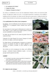 Séismes - Cours - Géologie - SVT : 2eme Secondaire
