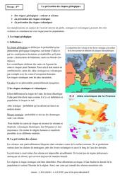 Prévention des risques géologiques - Cours - Géologie - SVT : 2eme Secondaire